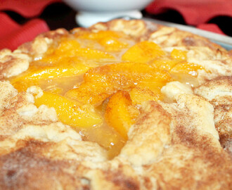 Peach Cobbler Galette. Cajun Week Day 7