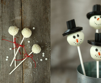 Vinter Cakepops - Winter Cake Pops