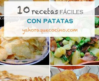 10 Easy Recipes with Potatoes