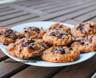 Galletas con chips de chocolate fit (II)