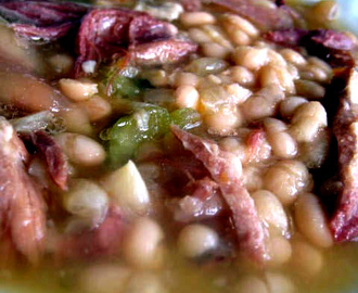 Crockpot Ham and Bean Soup