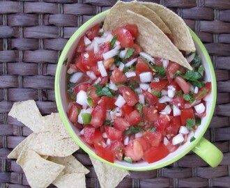 Weight Watchers Monday ~ Vadalia Onion Pico De Gallo