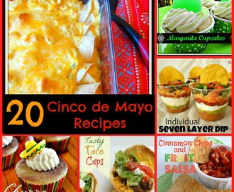 Celebration Sundays - Cinco de Mayo recipes