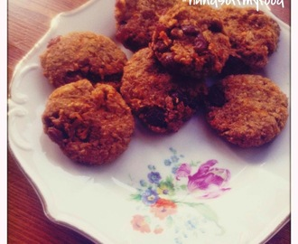 SKINNY SINNER: Carrot-cookies!