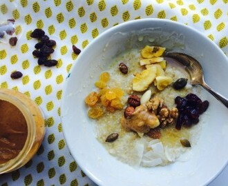 Easy havermoutpap: 5 minute porridge met quinoa, amaranth en havermout