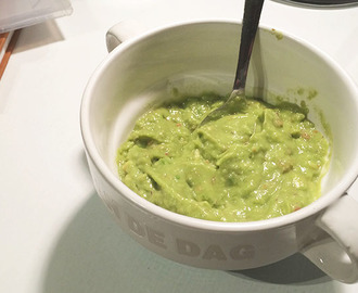 Recept: homemade guacamole