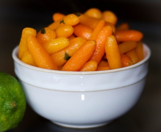Baby Carrots in Honey Lime Butter (Family Favorites)