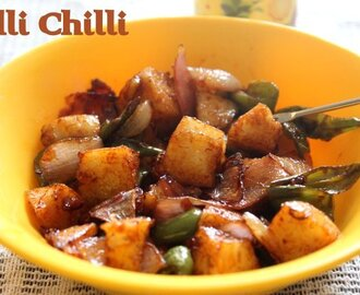 Idli chilli recipe – How to make idli chilli recipe – Indian snacks recipes | easy idli recipes