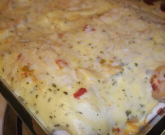 Skinny Chicken Sour cream enchiladas