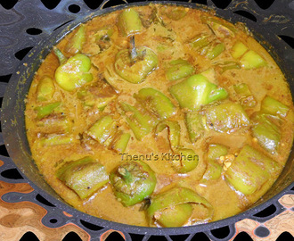 Briyani Side Salan (Bell Pepper Salan)