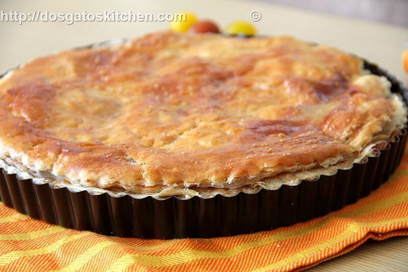 Beef Pie with Eggplant and Pine Nuts