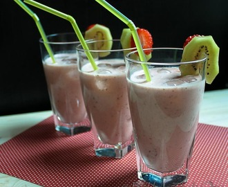Happy Hour: Aardbeien Kiwi Smoothie