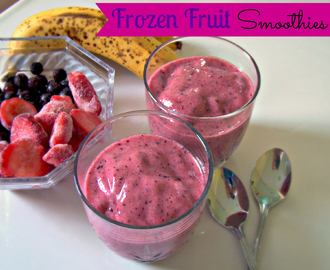 Frozen Fruit Smoothies