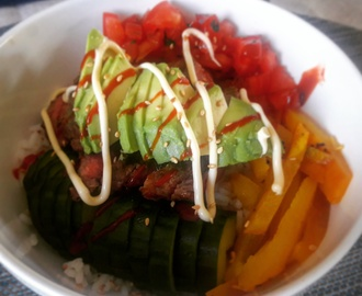 Recept: Poke Beef Bowl