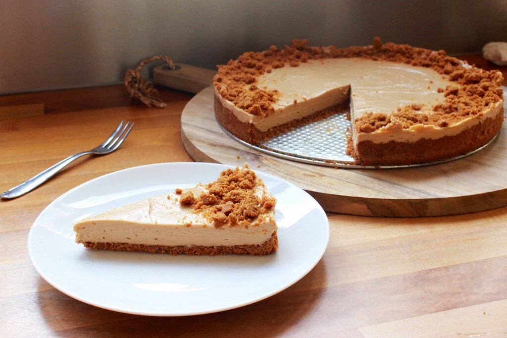 Triple speculaas cheesecake