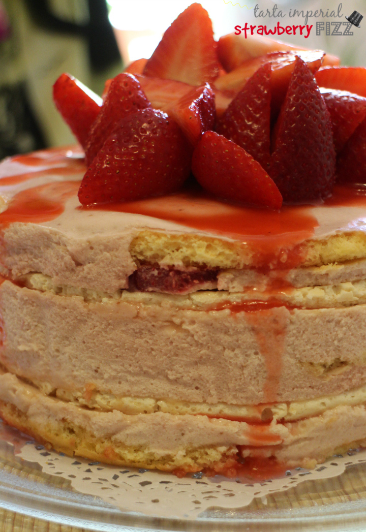 tarta imperial de strawberry fizz
