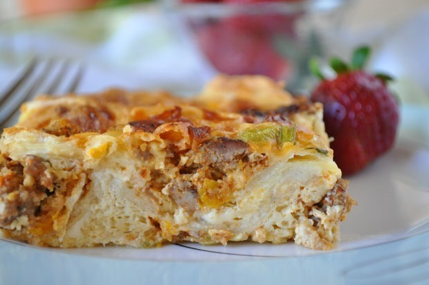 Mother's Day: Mexican Breakfast Casserole and a homemade gift of Brown Sugar Scrub