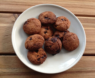 Tarwevrije chocolate chip cookies