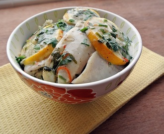 Baked Tilapia with Coconut Milk and Lemon