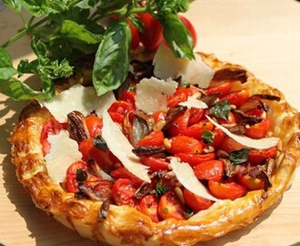 Tarte a la tomate – tomato tart recipe by Michel Roux Jr.