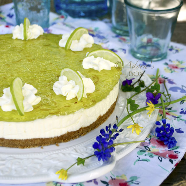 EASY LIME CHEESECAKE