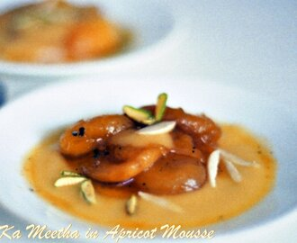 Qubani ka Mitha(Stewed Apricot Dessert) : South Vs North May Challenge