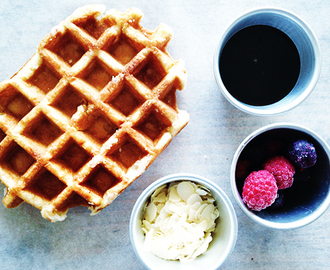 Gezonde wafels recept: Keep it simple waffle! Gluten/ suikervrij