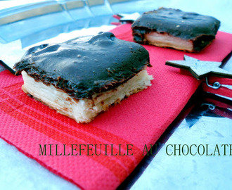 MILLEFEUILLE AU CHOCOLATE