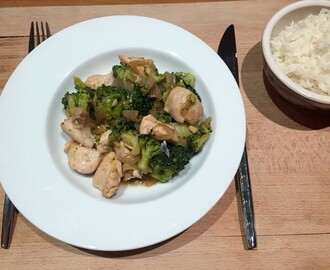 Kip Teriyaki met Broccoli