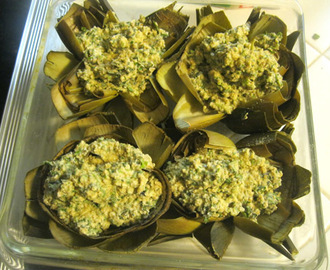 Stuffed Artichokes, and I love Trader Joe's