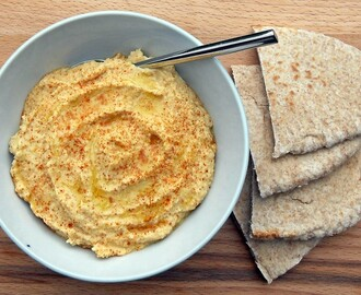 Houmous with Peanut Butter