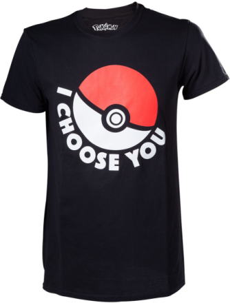 Pokemon - T-Shirt I Choose You