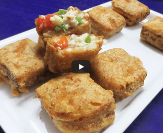 Bread Pizza Pakoda Recipe Video