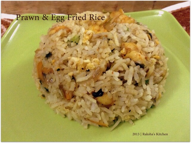 Prawns & Egg Fried Rice - Happy Mother's Day