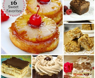 Mom's 16 Sweet Treat Favorites ~ 'cause she couldn't pick just 10! {Playground Round-Up}