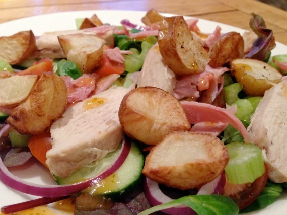 Chicken & Bacon Hot Top Salad
