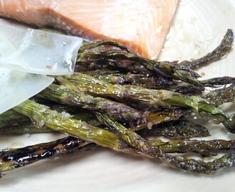 roasted asparagus with balsamic and parmigiano reggiano cheese