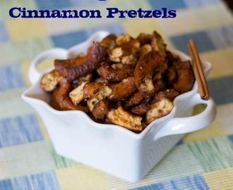Brown Sugar and Cinnamon Pretzels