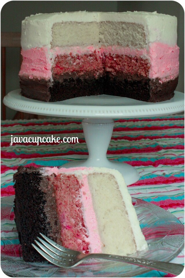 {Tutorial} Neapolitan Layer Cake