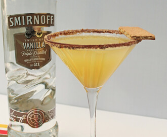 Pineapple Upside Down Cake Martini