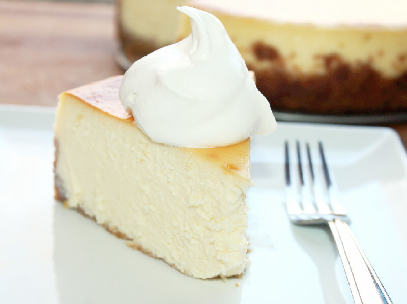 Mile High Cheesecake