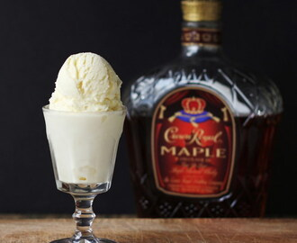 Maple Whisky Ice Cream