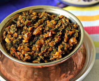 Palak Paneer Bhurji/ Spinach And Cottage Cheese
