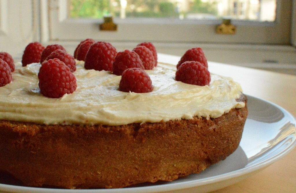 Pimm's & Raspberry Cake, just because