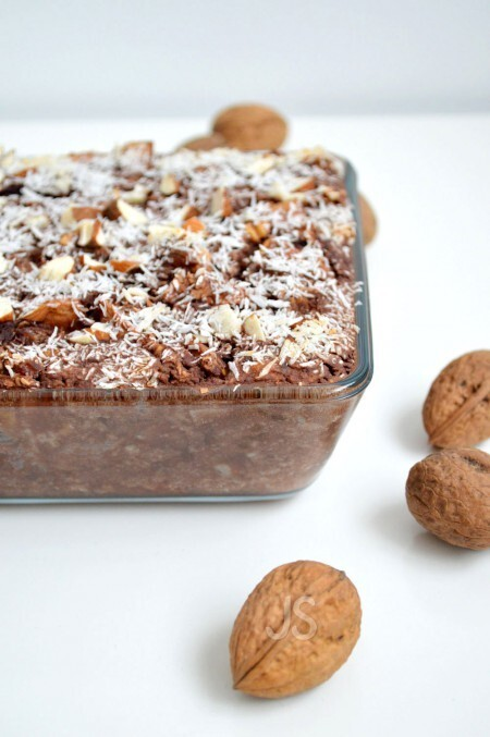 Recept: brownie baked oats