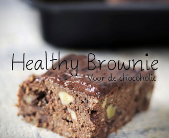 Banana chocolate brownies – zonder suiker