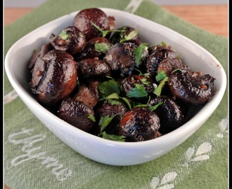 Oven-Roasted Garlic Mushrooms