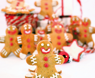 Gingerbread Men Cookies ovvero Omini di Pan di Zenzero
