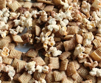 Sweet, Salty & Cinnamony Chex Mix