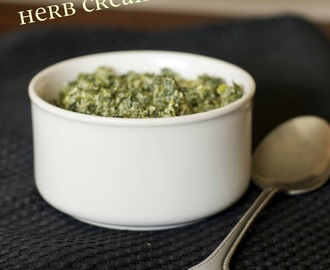 Herb Creamed Spinach (Family Favorites)